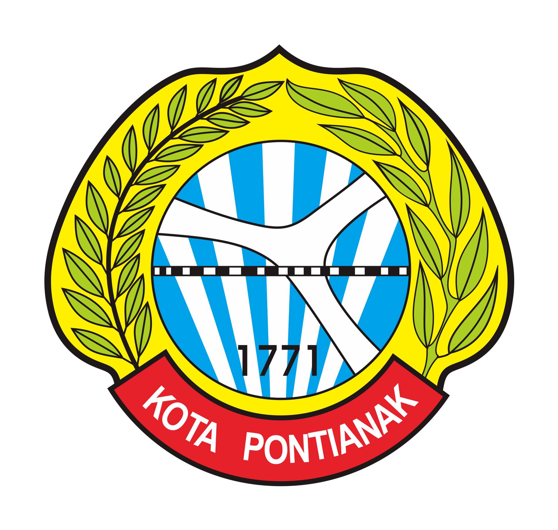 Logo Kota Pontianak (Provinsi Kalimantan Barat) Original
