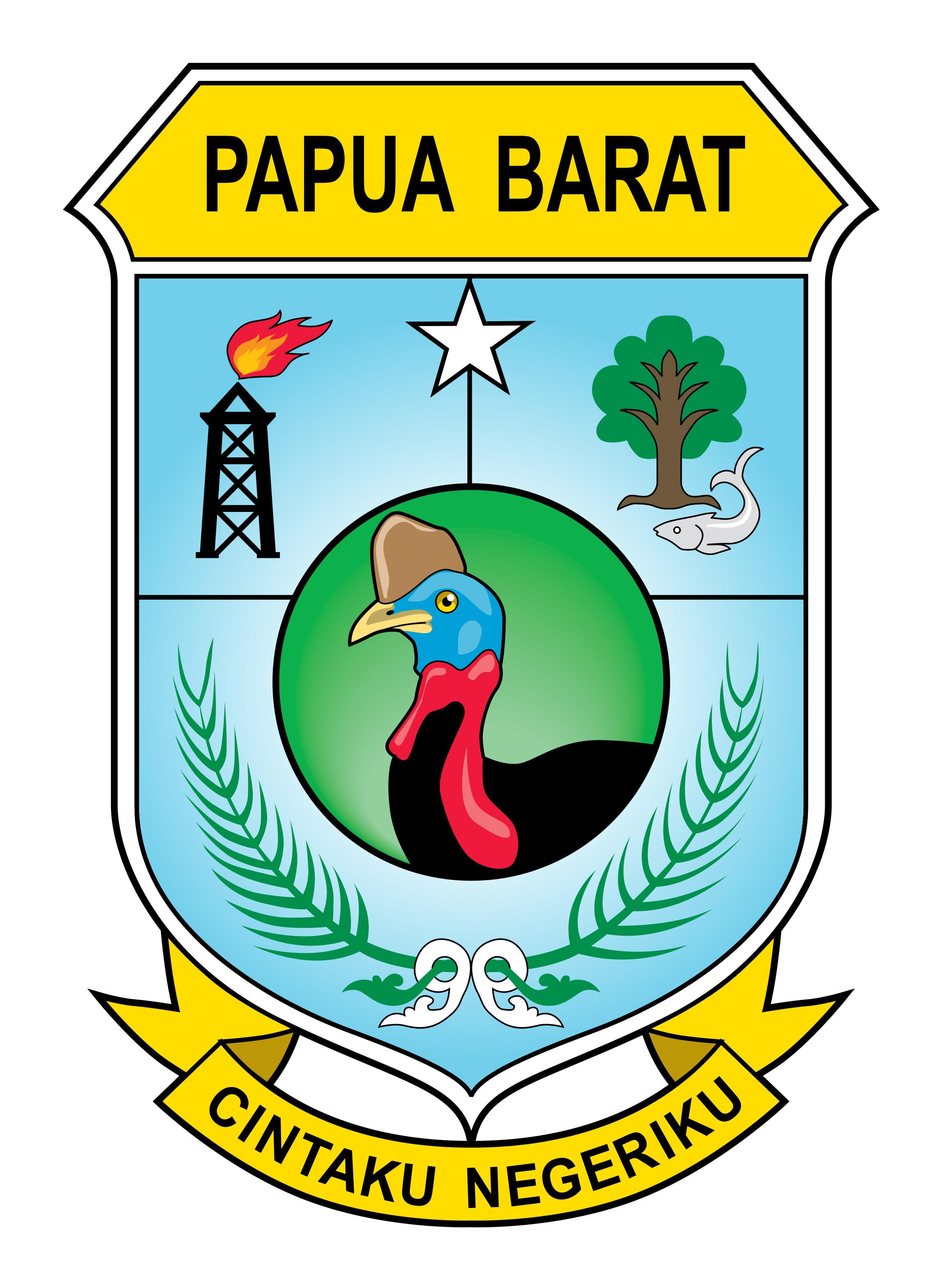Logo Papua Barat (Papua Barat Indonesia) Original