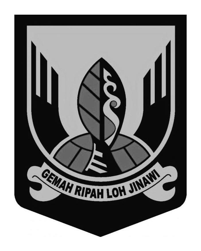 Logo Sukabumi (Provinsi Jawa Barat) Original Terbaru Grayscale