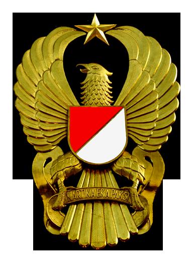 Logo TNI AD (Tentara Negara Indonesia Angkatan Darat) Original