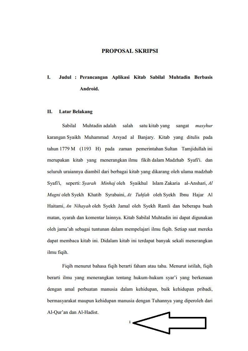 Struktur Proposal Skripsi Teknik Informatika Yang Benar Rekreartive