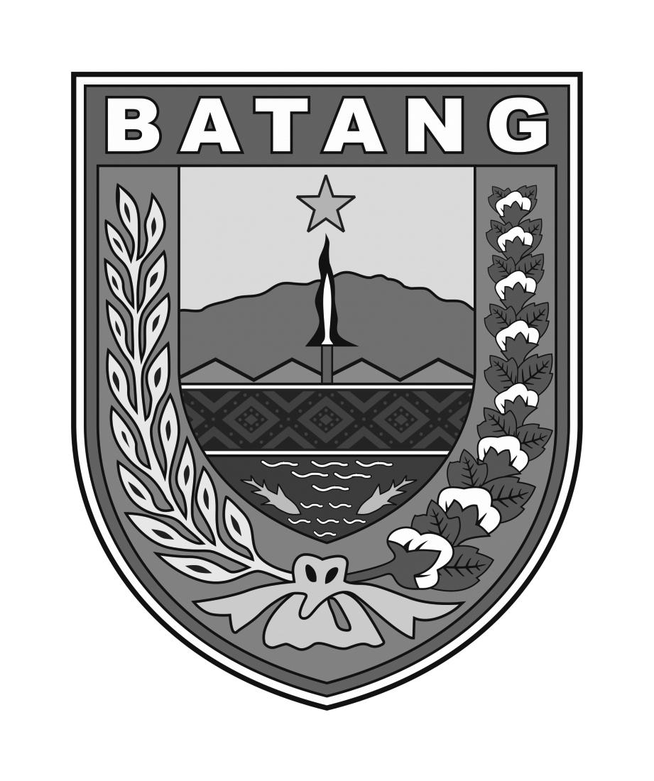Logo Batang (Kabupaten Batang) Hitam Putih