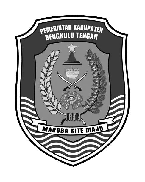 Logo Bengkulu Tengah (Kabupaten Bengkulu Tengah) Hitam Putih