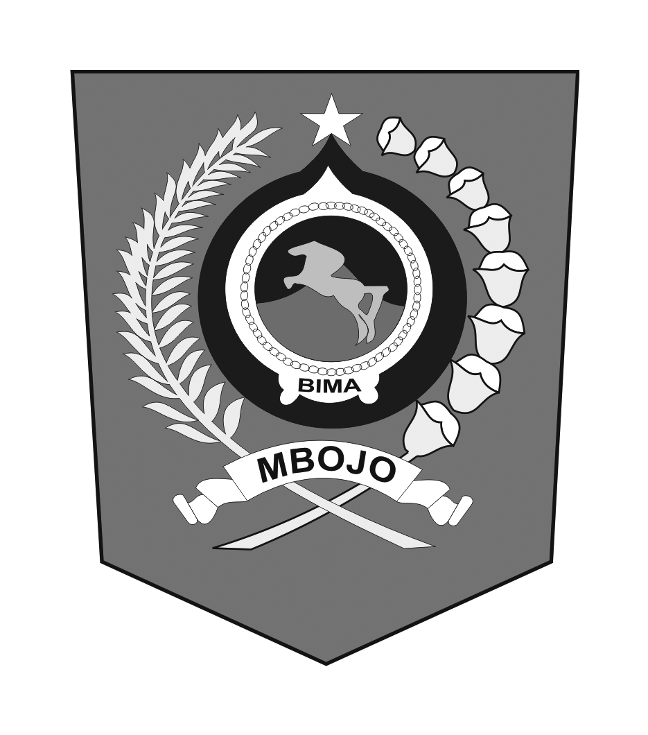Logo Bima (Kabupaten BIMA)Hitam Putih