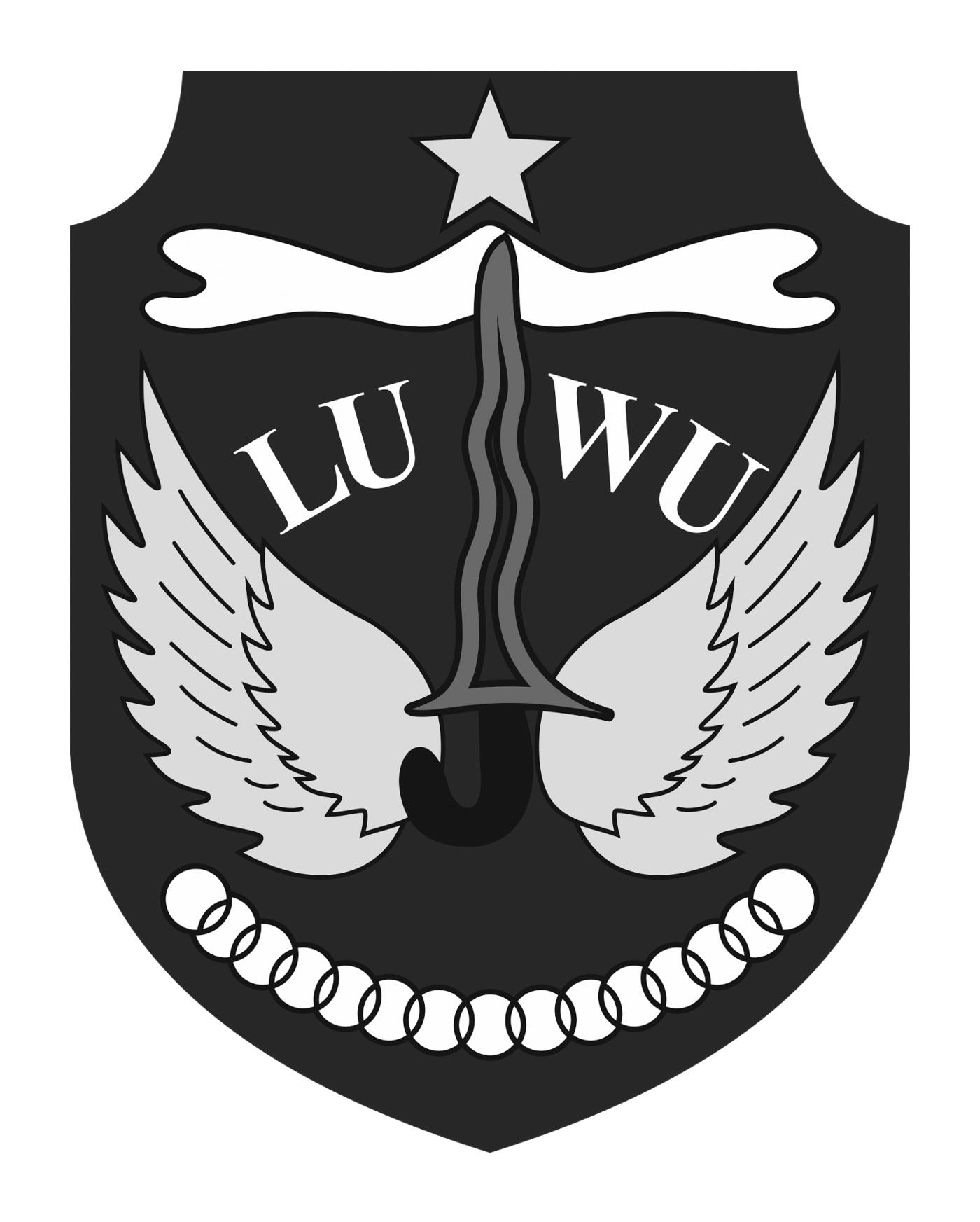 Logo Kabupaten LuwuHitam Putih