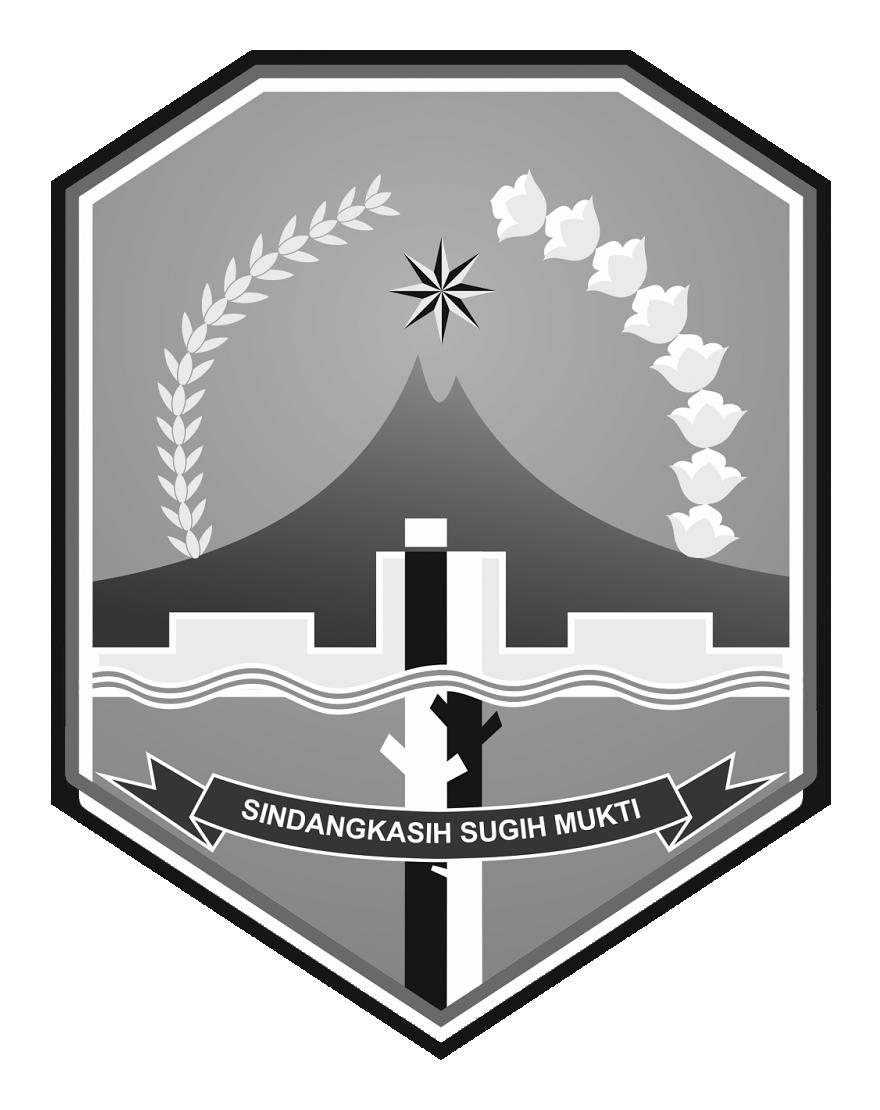 Logo Kabupaten MajalengkaHitam Putih