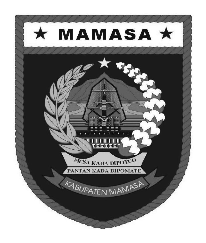 Logo Kabupaten MamasaHitam Putih