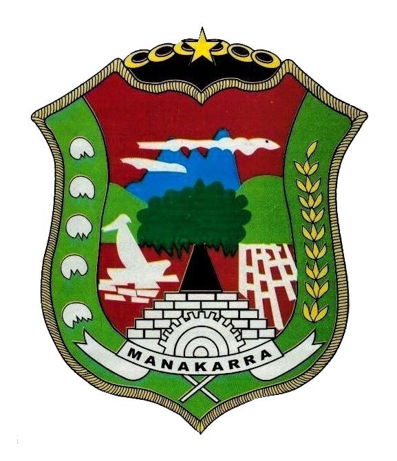 Logo Kabupaten MamujuWarna