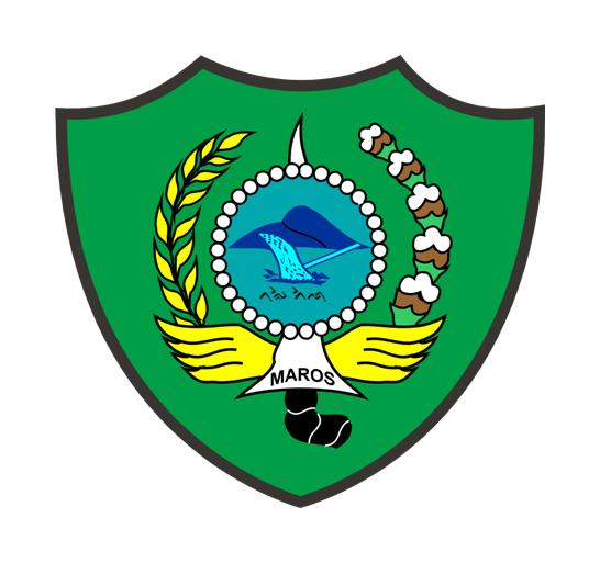 Logo Kabupaten MarosWarna