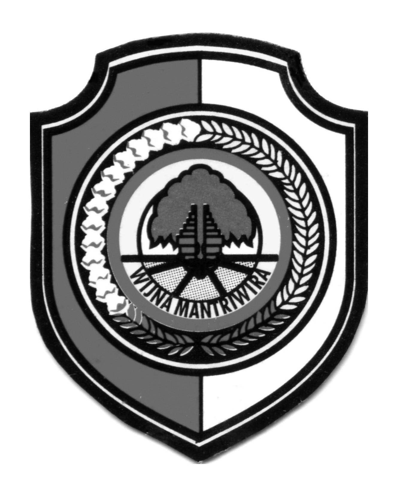 Logo Kabupaten MojokertoHitam Putih