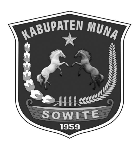Logo Kabupaten MunaHitam Putih