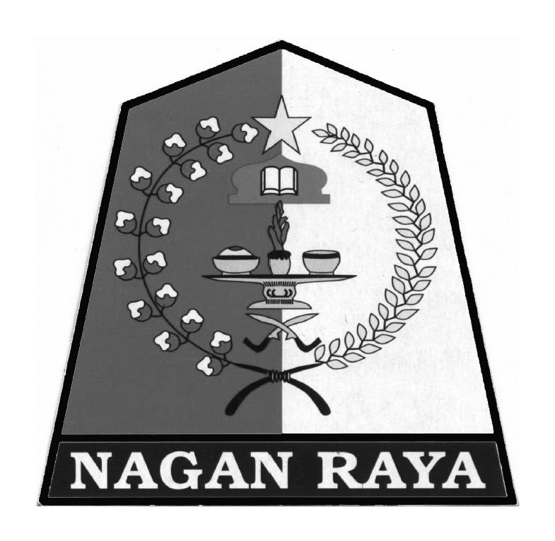 Logo Kabupaten Nagan RayaHitam Putih