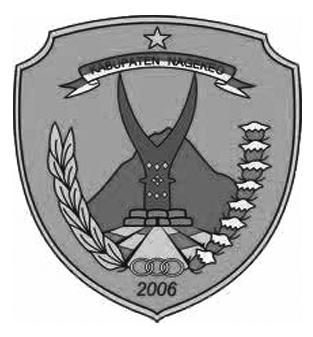Logo Kabupaten NagekeoHitam Putih