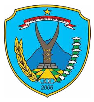 Logo Kabupaten NagekeoWarna