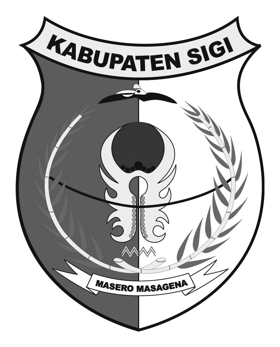 Logo Kabupaten SigiHitam Putih