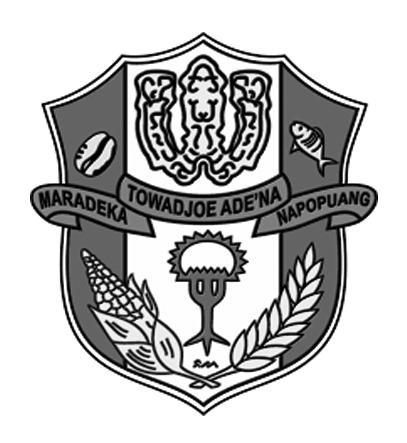 Logo Kabupaten WajoHitam Putih