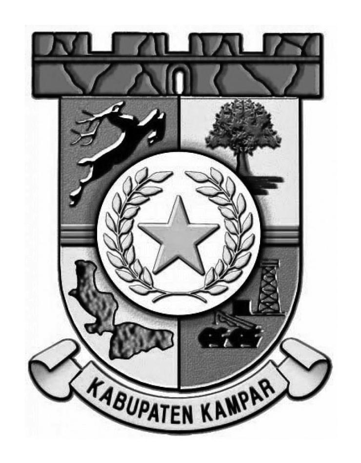 Logo Kampar (Kabupaten Kampar)Hitam Putih