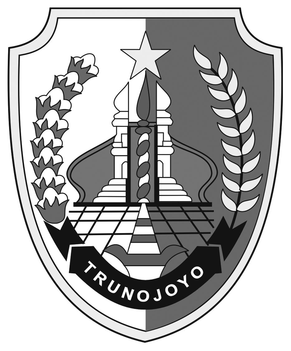 Logo Sampang (Kabupaten Sampang)Hitam Putih