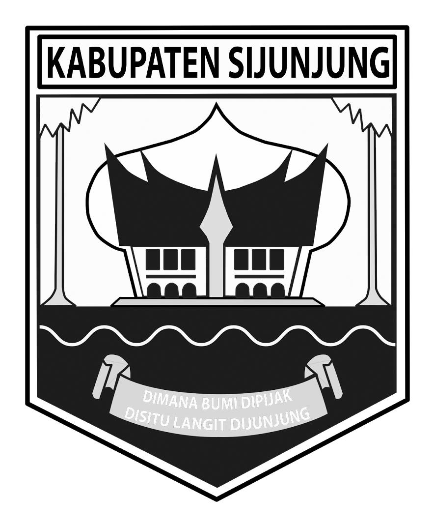 Logo Sijunjung (Kabupaten Sijunjung)Hitam Putih