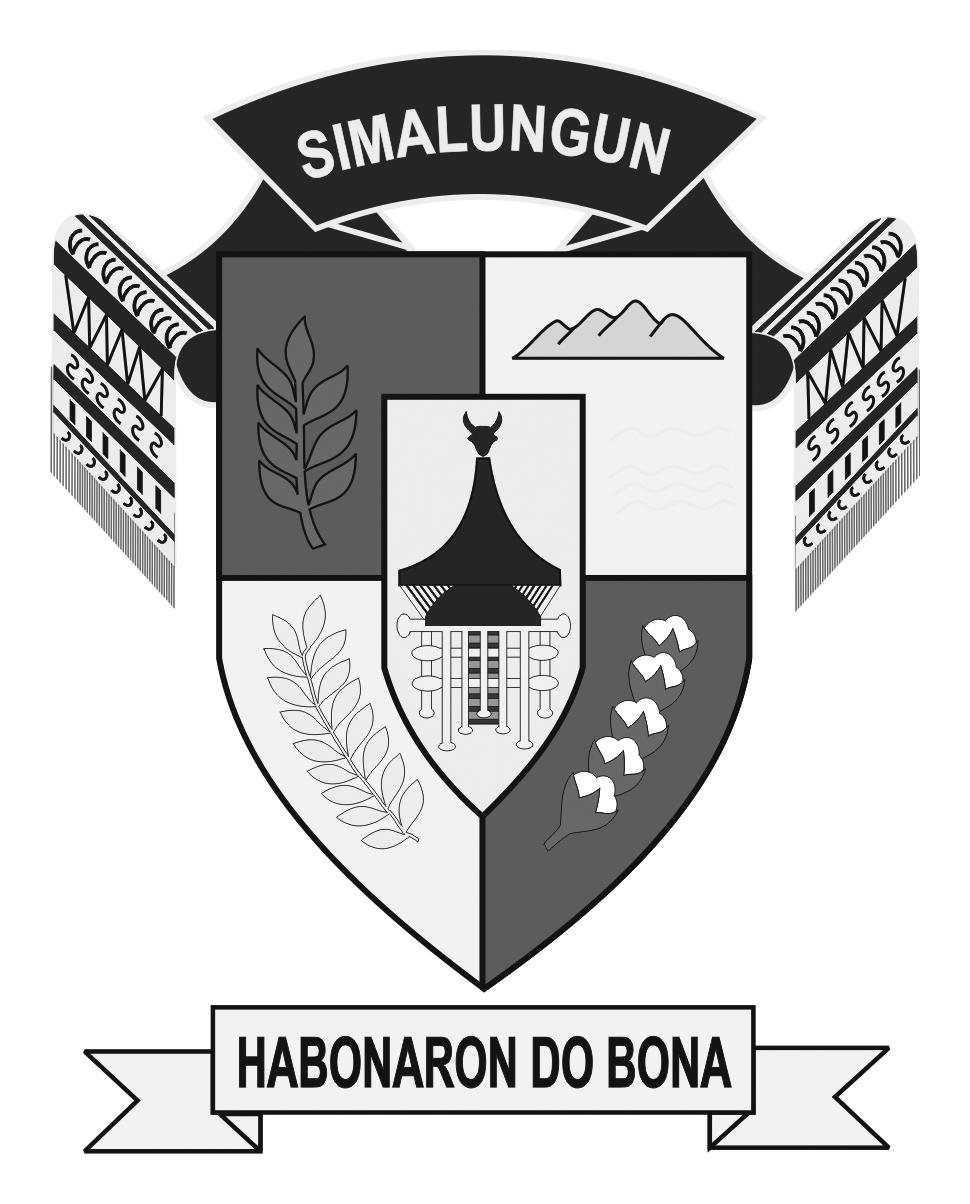 Logo Simalungun (Kabupaten Simalungun)Hitam Putih
