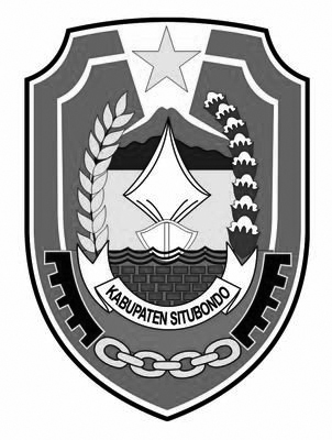 Logo Situbondo (Kabupaten Situbondo)Hitam Putih