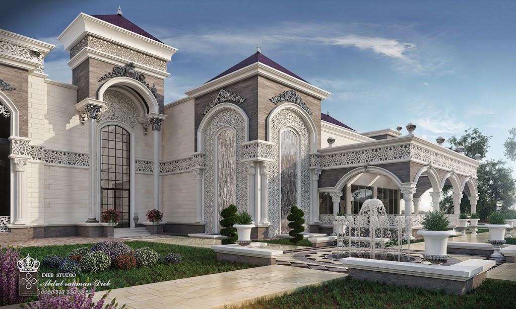 Model Arsitektur Rumah Bergaya Eropa Klasik Rekreartive