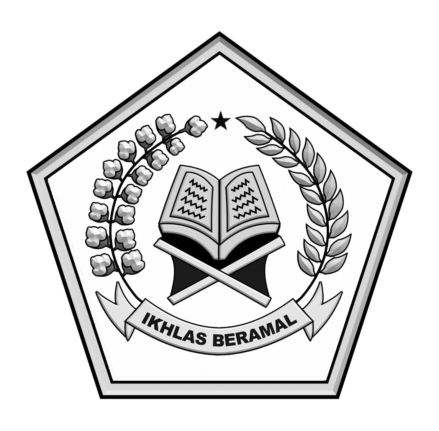 Logo Ikhlas BeramalHitam Putih