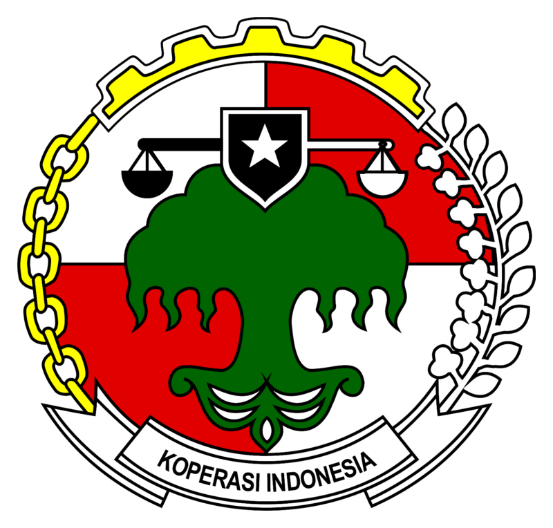 Logo Koperasi IndonesiaPNG Warna