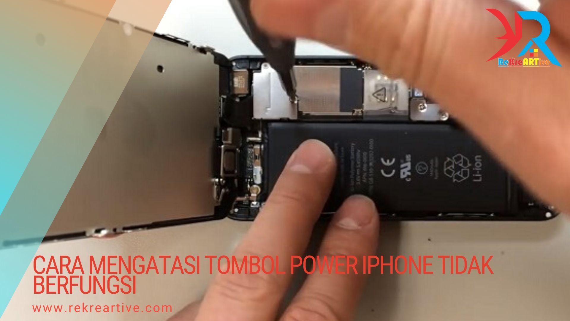 Tombol Power Iphone Tidak Berfungsi Begini Cara Mengatasinya