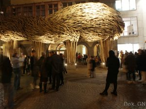 Karya Seni Instalasi Bambu The Big Trees (Frankfurt Book Fair  2015)