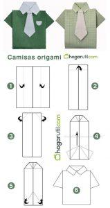 Origami Kemeja CC.Pinterest.com