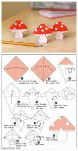 Origami Jamur CC.Pineters.com