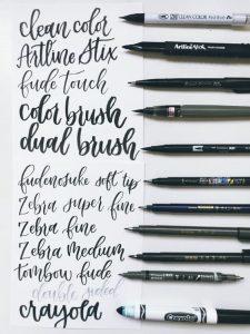 Elastisitas brush pen cc.Pinterst.com