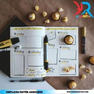 menulis buku harian untuk melatih kreativitas