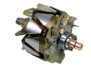 komponen Rotor alternator